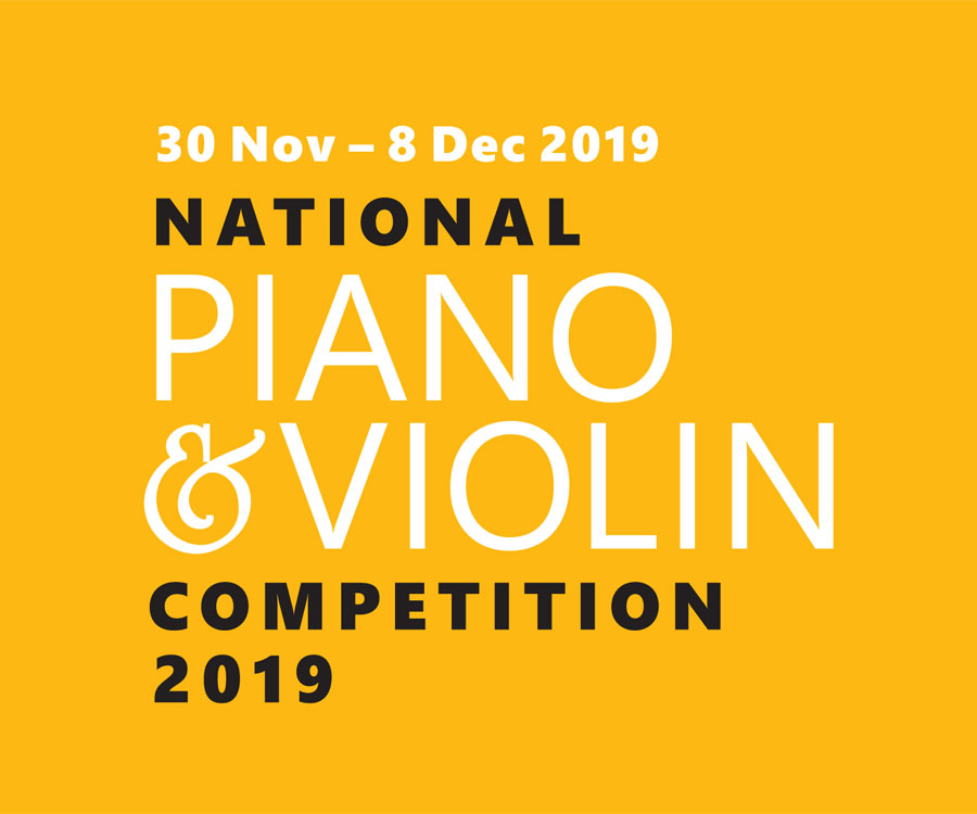 Ad - National Piano & Violin Competition 2019